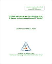 Small-Scale Postharvest Practices A Manual for Horticulture Crops (4th Edition)