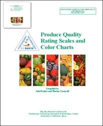 Produce Quality Rating Scales and Color Charts (Second Edition) - Binder & CD