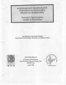 Postharvest Technology for Fruit & Vegetable Produce Marketers_Page_1