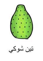 Cactus Pear Arabic