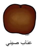 Jujube Arabic